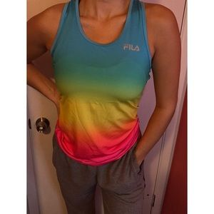 Fila workout top